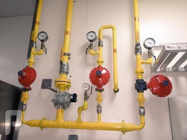 شركة تمديد الغاز المركزي بالرياض