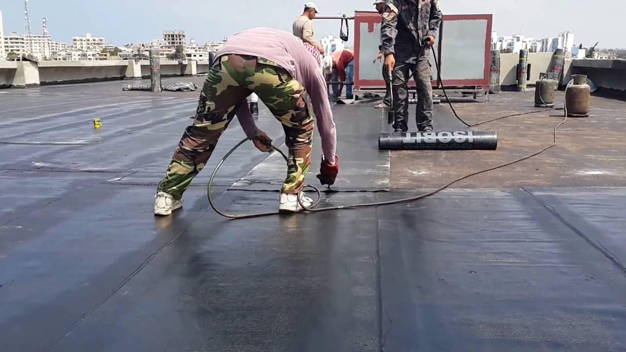 افضل طريقة لعزل الاسطح من الماء